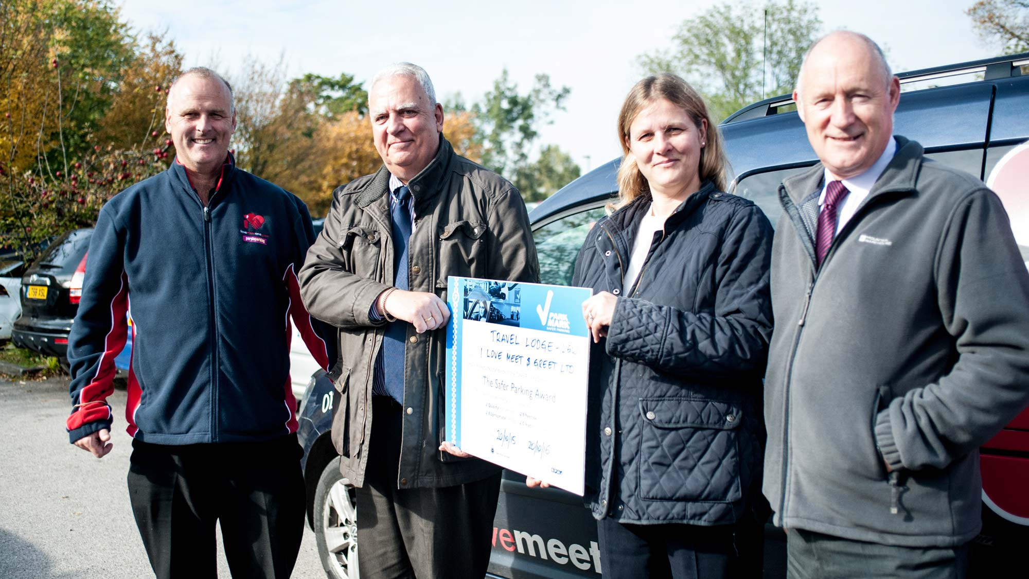 Park mark 4th year i love meet and greet i love meet and greet is celebrating the success of achieving the park mark safer parking award for all its car parks at gatwick airport kristyandbryce Choice Image