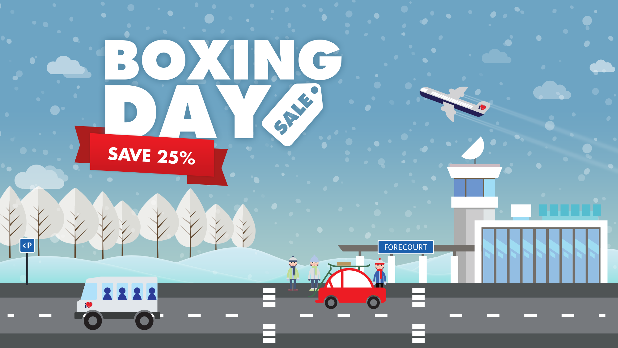 Boxing Day Sale Airport Parking Offers I Love