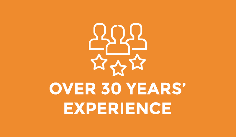 30 years expertise