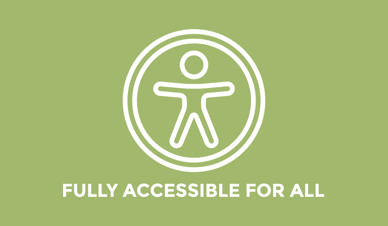 Fully accessible